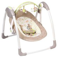 mastela deluxe portable swing-4