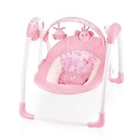 mastela deluxe portable swing pink
