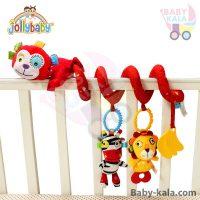 آویز تخت، کالسکه و کریر طرح میمون جولی بیبی jollybaby